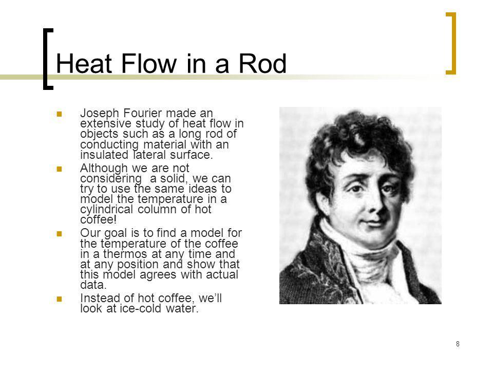 Heat Flow in a Rod