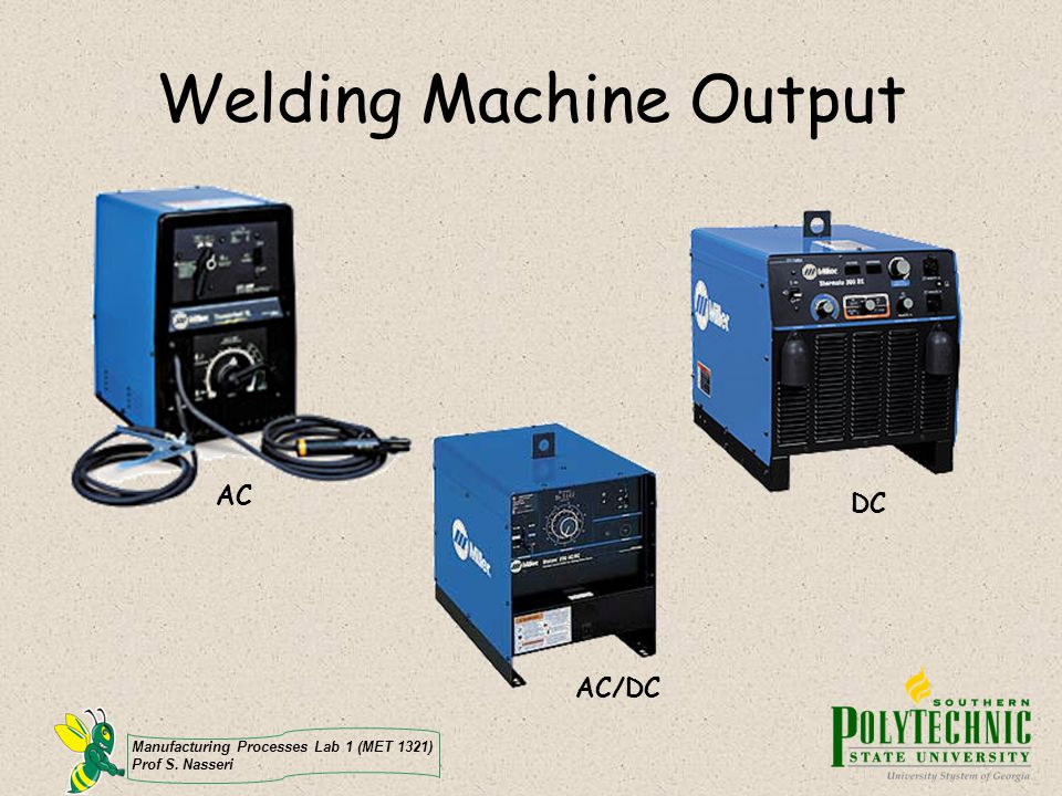 Welding Machine Output