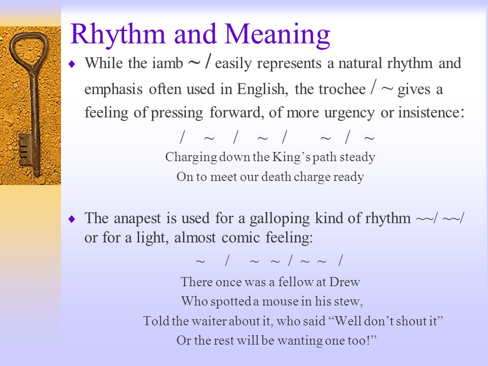 Rhythm and Meaning / ~ / ~ / ~ / ~