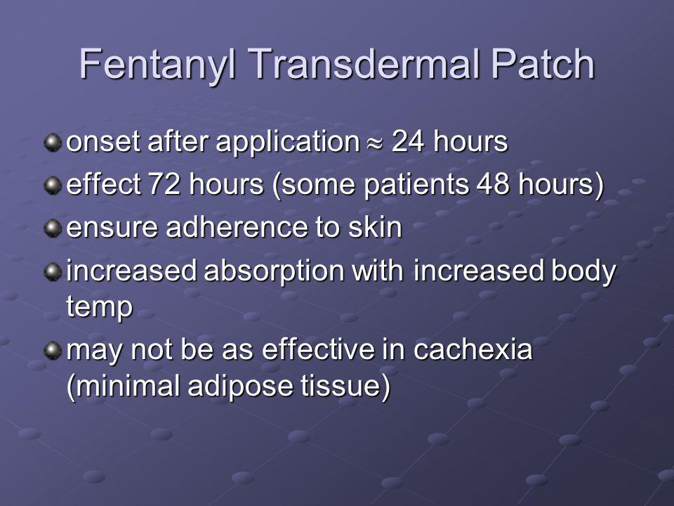 Fentanyl Transdermal Patch