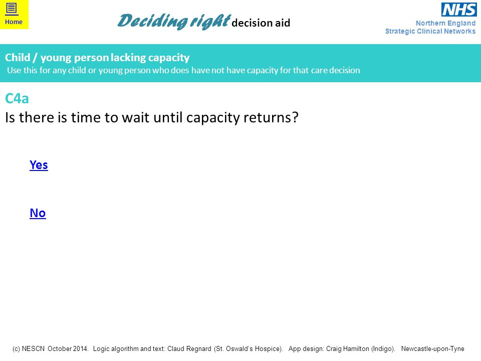 Is there is time to wait until capacity returns