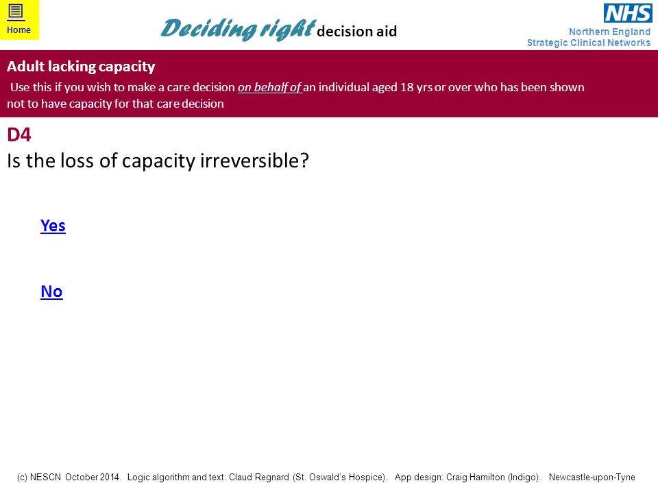 Is the loss of capacity irreversible