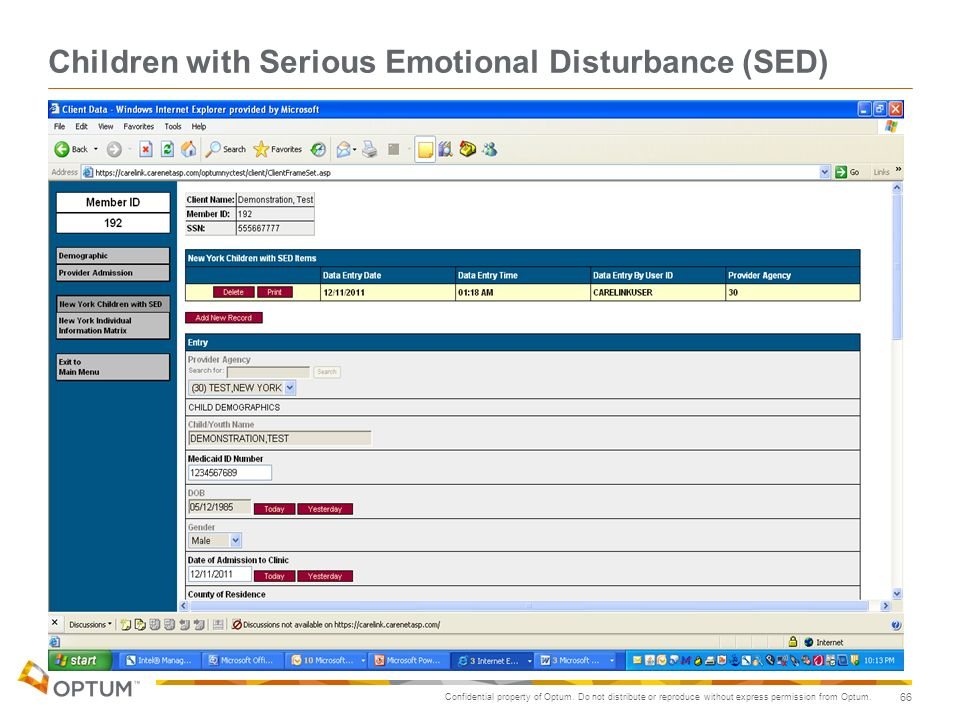 Children with Serious Emotional Disturbance (SED)