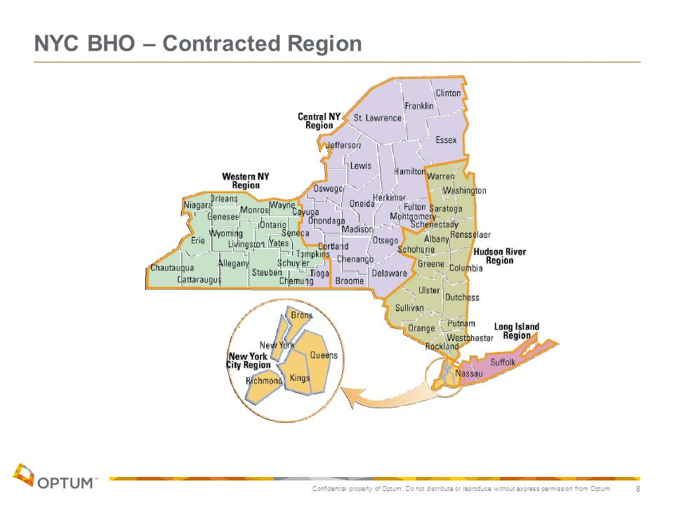 NYC BHO – Contracted Region