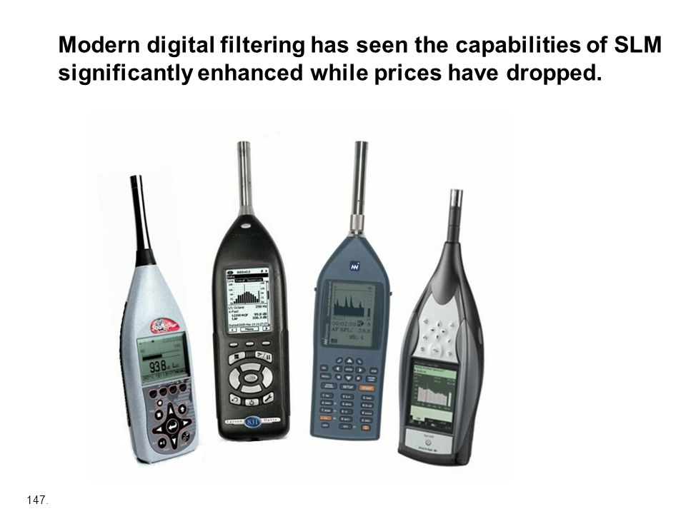 Modern digital filtering has seen the capabilities of SLM significantly enhanced while prices have dropped.