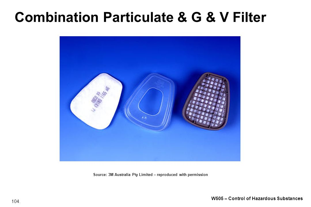 Combination Particulate & G & V Filter