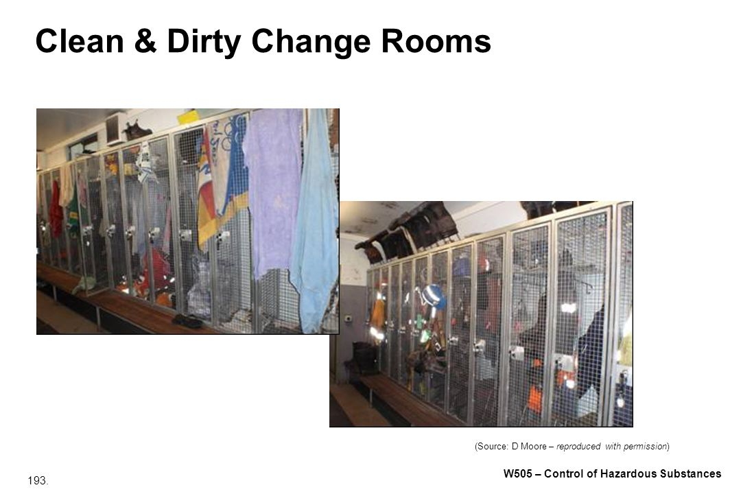 Clean & Dirty Change Rooms
