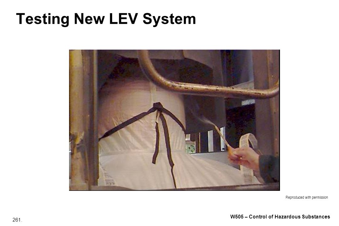 Testing New LEV System Reproduced with permission
