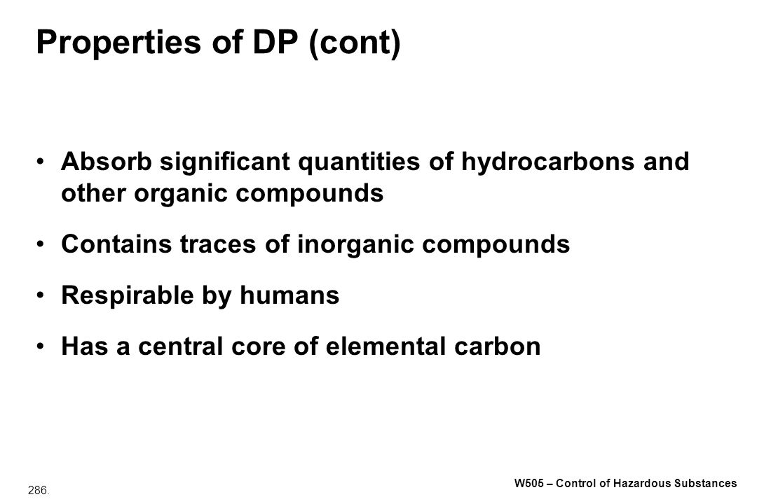 Properties of DP (cont)