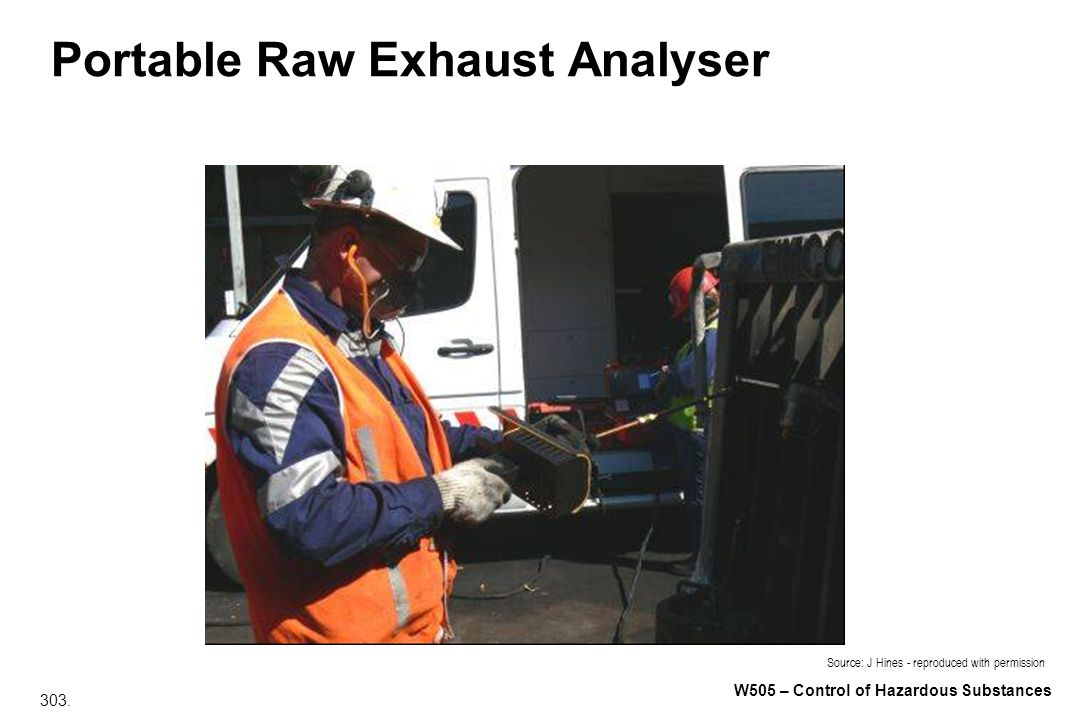 Portable Raw Exhaust Analyser