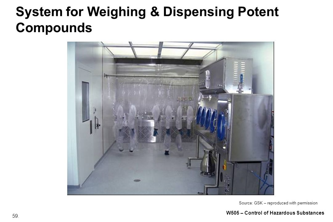 System for Weighing & Dispensing Potent Compounds