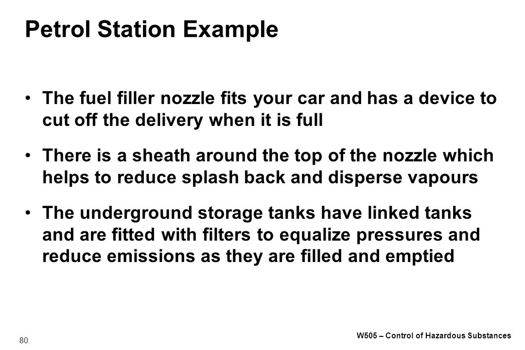 Petrol Station Example