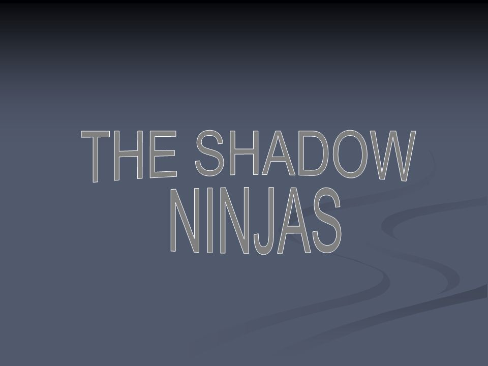 THE SHADOW NINJAS