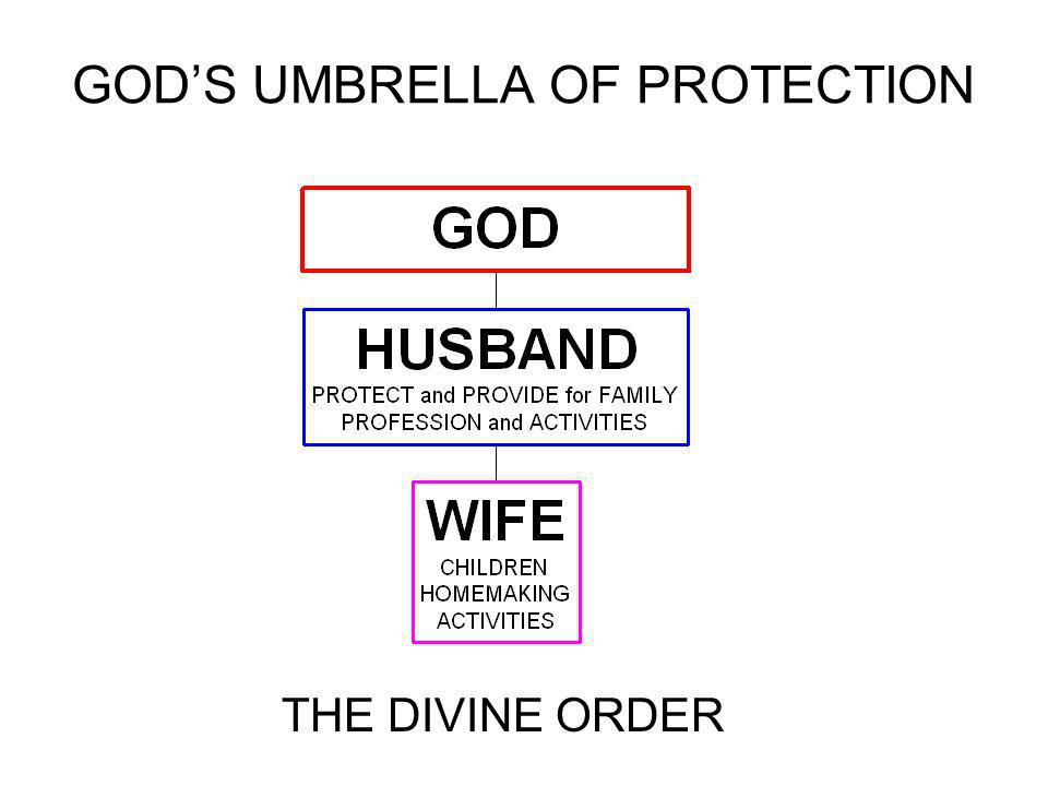 GOD'S UMBRELLA OF PROTECTION
