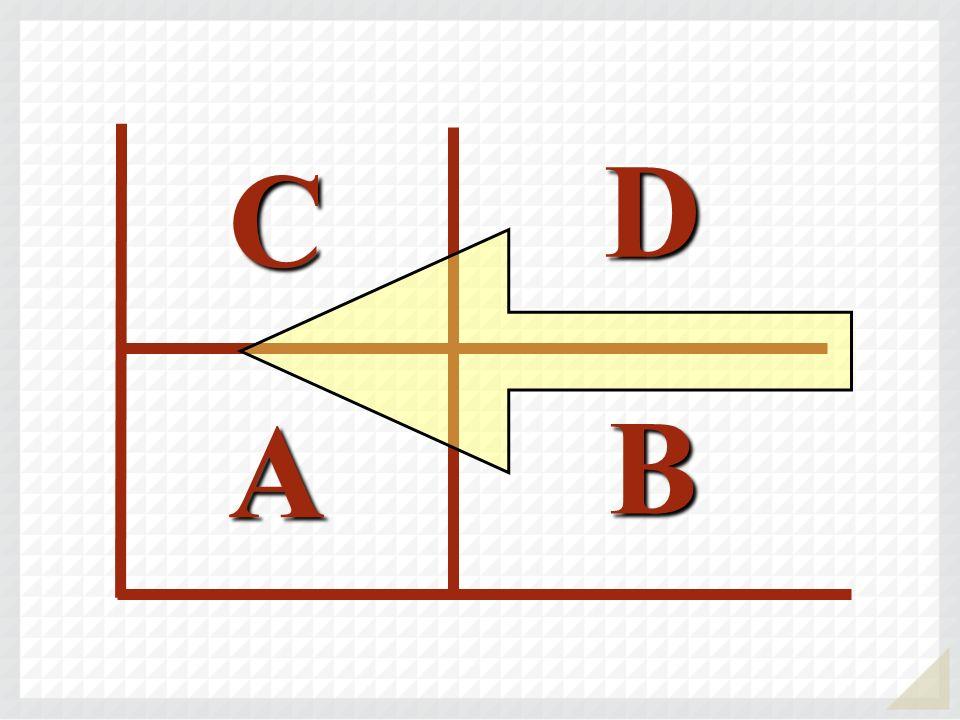 D C A B