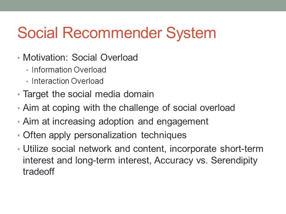 Social Recommender System