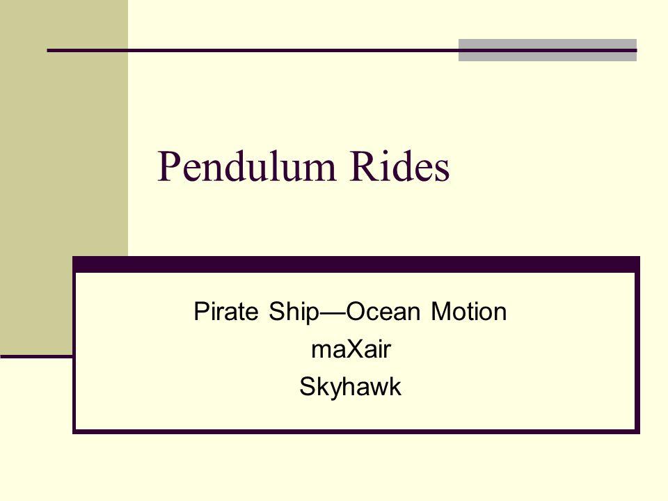 Pirate Ship—Ocean Motion maXair Skyhawk