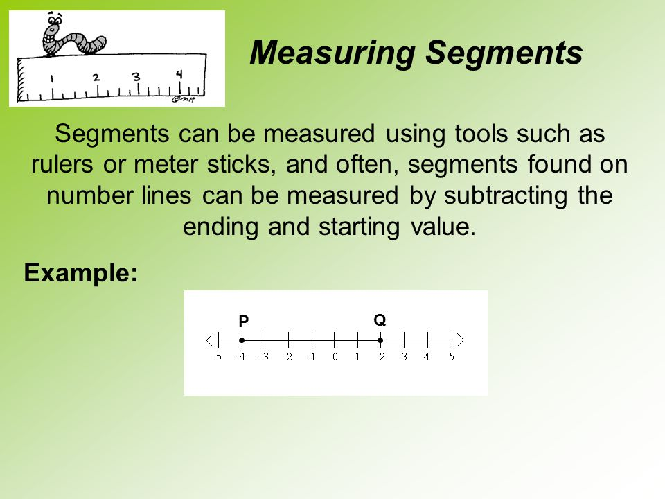 Measuring Segments