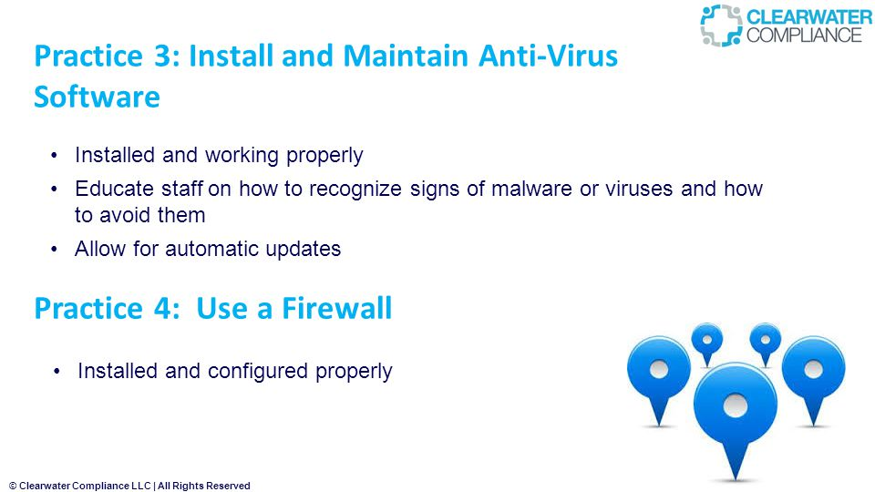 Practice 3: Install and Maintain Anti-Virus Software