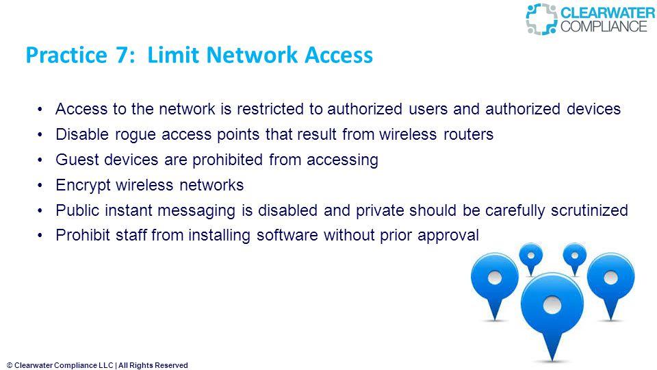 Practice 7: Limit Network Access