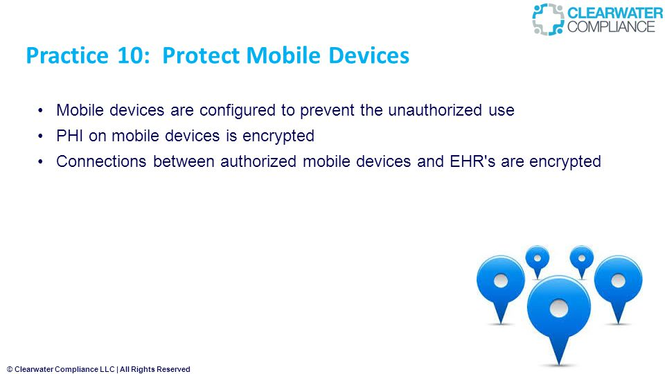 Practice 10: Protect Mobile Devices