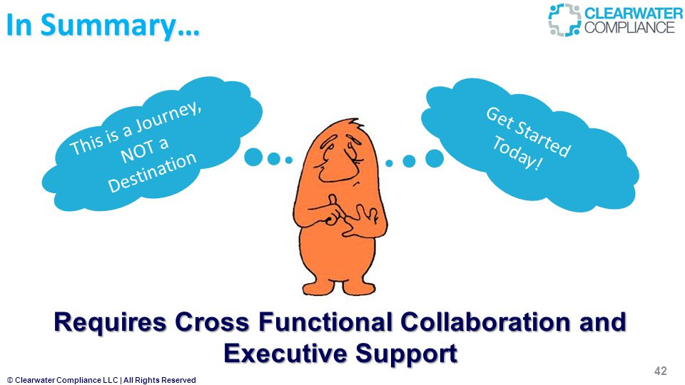 Requires Cross Functional Collaboration and Executive Support