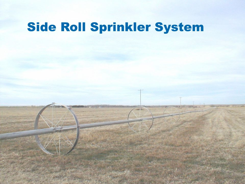 CONVENTIONAL SIDE ROLL IMPACT SPRINKLER