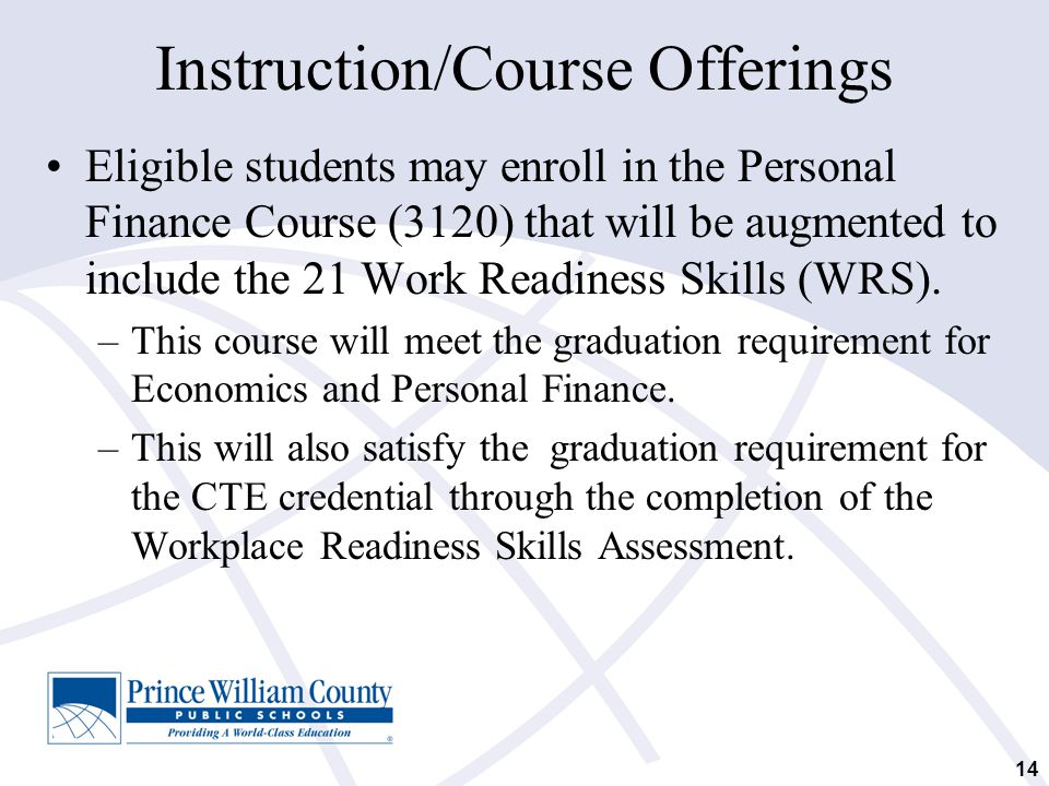 Instruction/Course Offerings