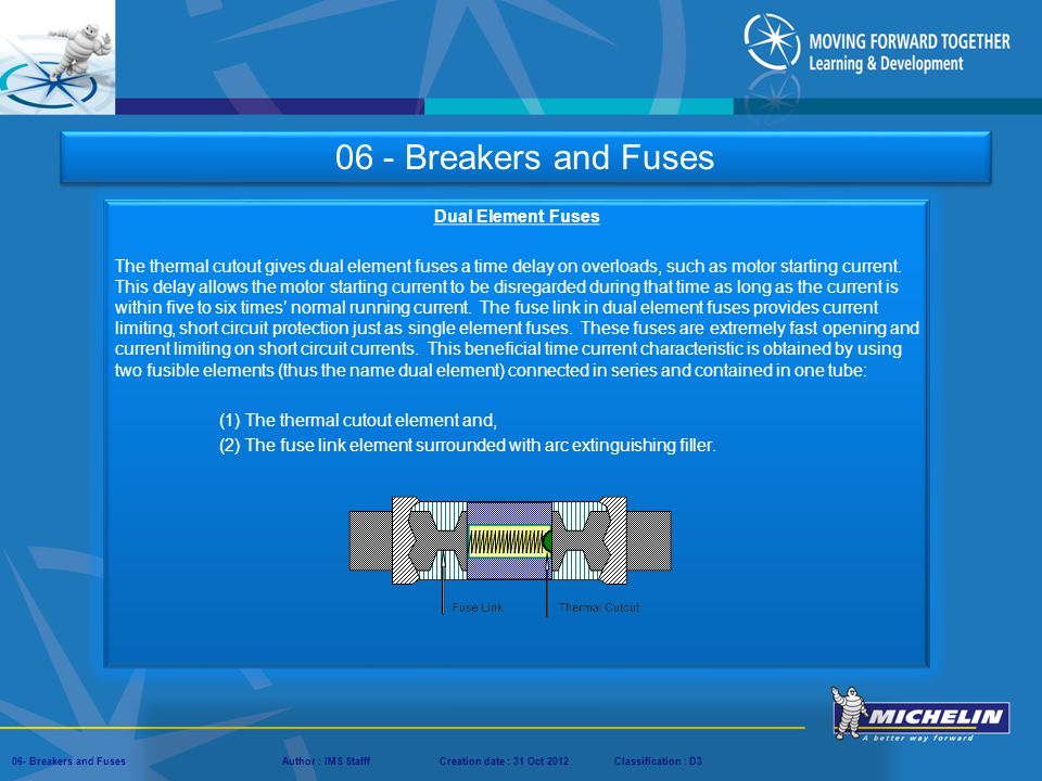 06 - Breakers and Fuses Dual Element Fuses