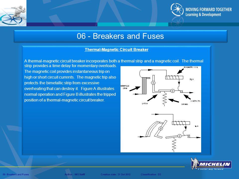 Thermal‑Magnetic Circuit Breaker