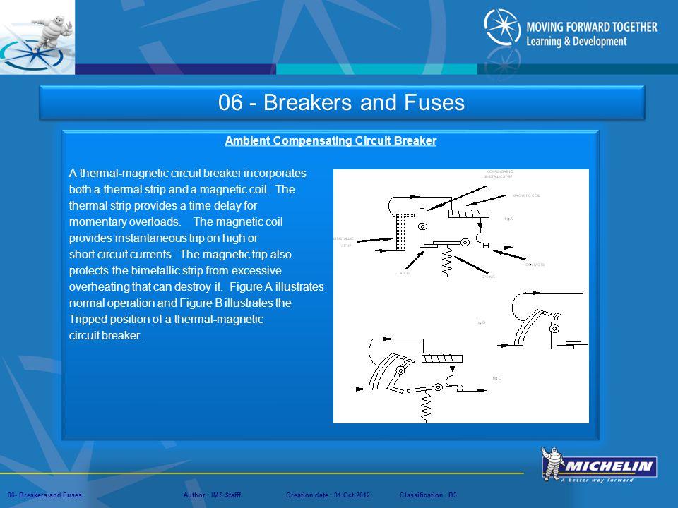 Ambient Compensating Circuit Breaker