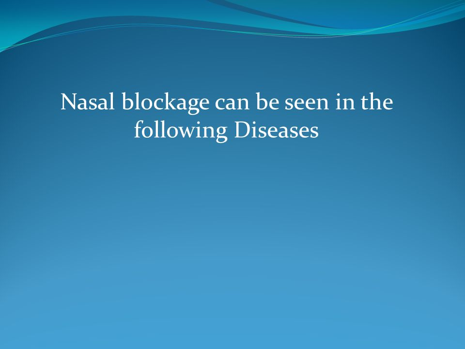 Nasal blockage can be seen in the following Diseases