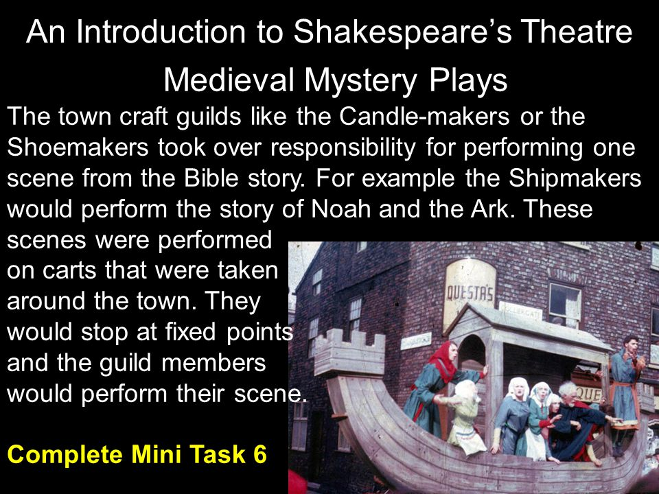 Medieval Mystery Plays