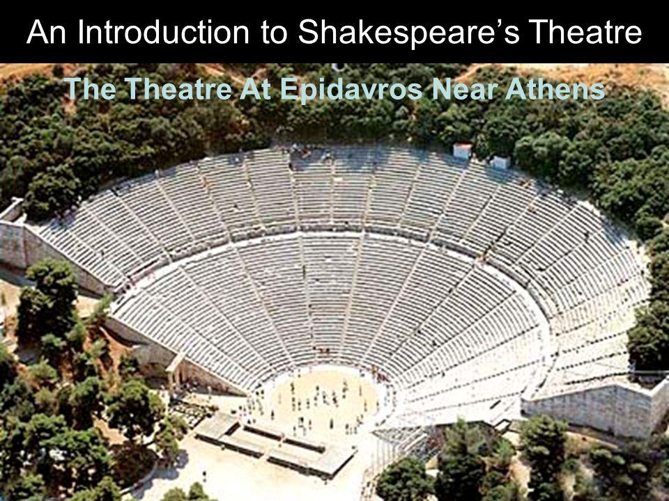The Theatre At Epidavros Near Athens