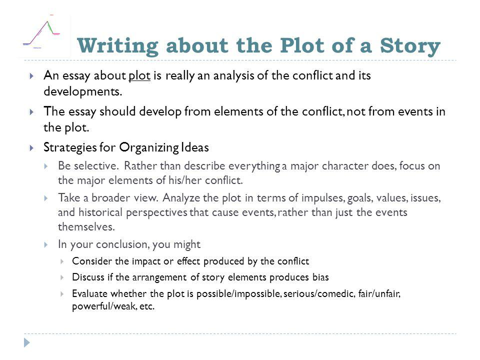 Writing about the Plot of a Story
