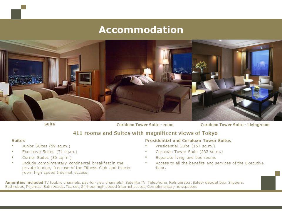 Cerulean Tower Suite - room Cerulean Tower Suite - Livingroom