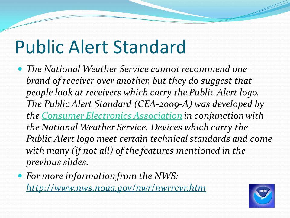 Public Alert Standard