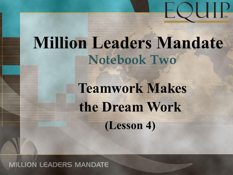 Million Leaders Mandate