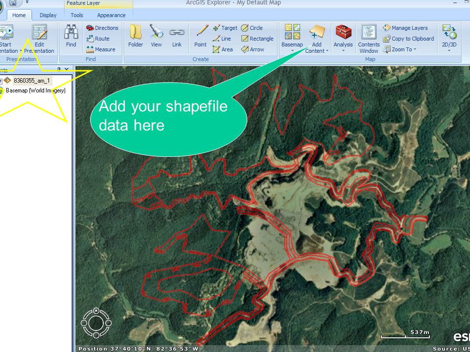 Add your shapefile data here
