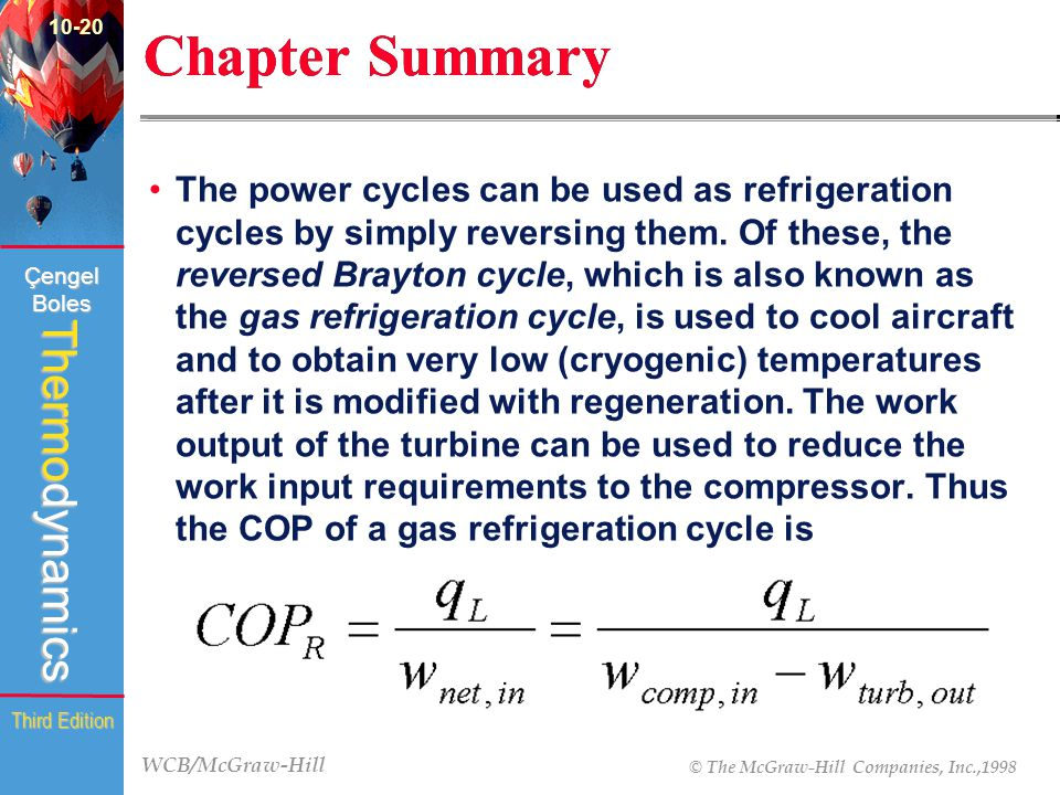10-20 Chapter Summary.
