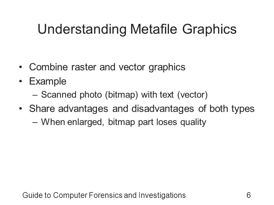 Understanding Metafile Graphics