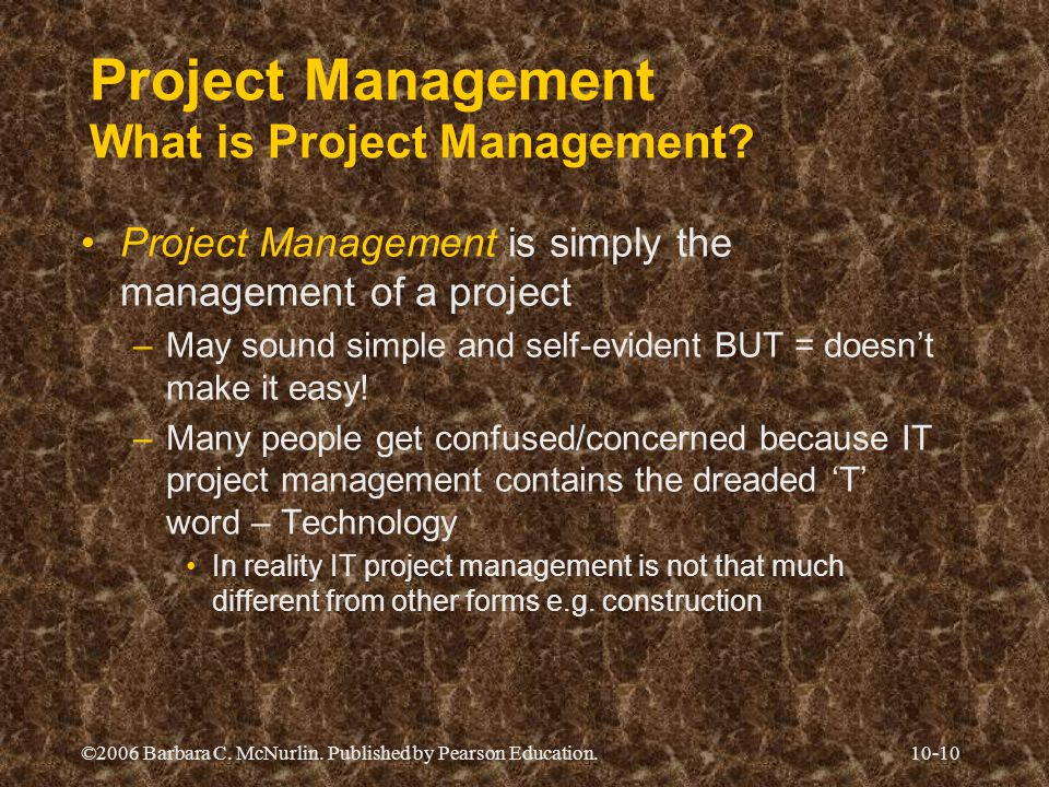 Project Management What is Project Management