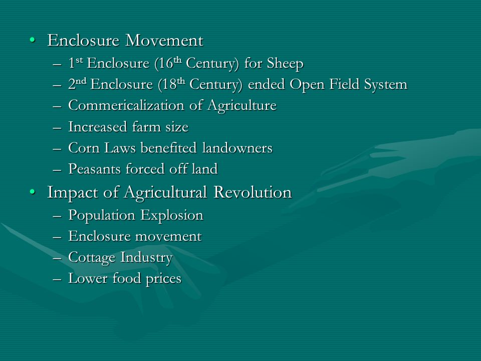 Impact of Agricultural Revolution