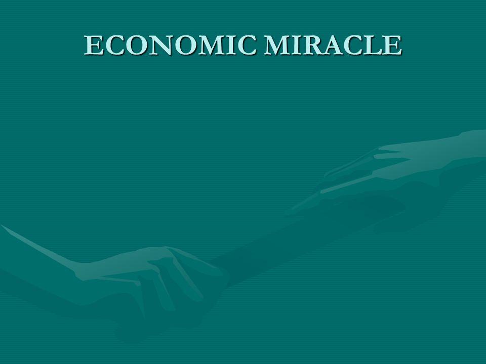 ECONOMIC MIRACLE