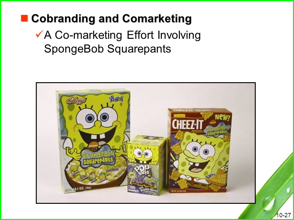 Cobranding and Comarketing