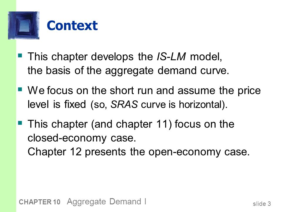 The Keynesian Cross A simple closed economy model in which income is determined by expenditure. (due to J.M. Keynes)