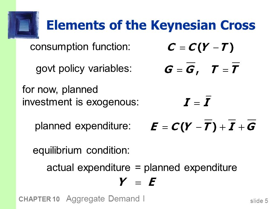 Graphing planned expenditure