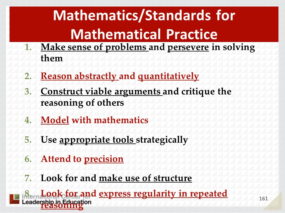 Mathematics/Standards for Mathematical Practice
