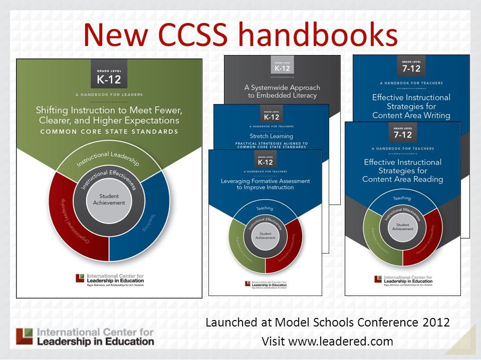 Launched at Model Schools Conference 2012
