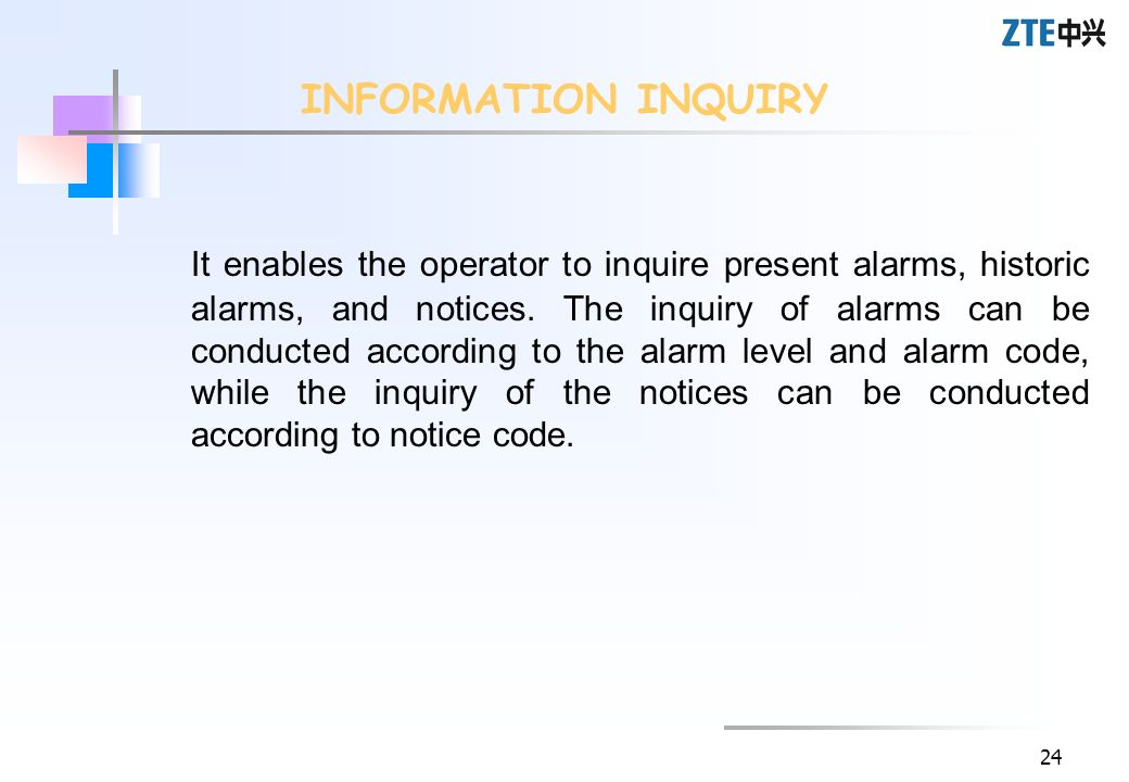 INFORMATION INQUIRY